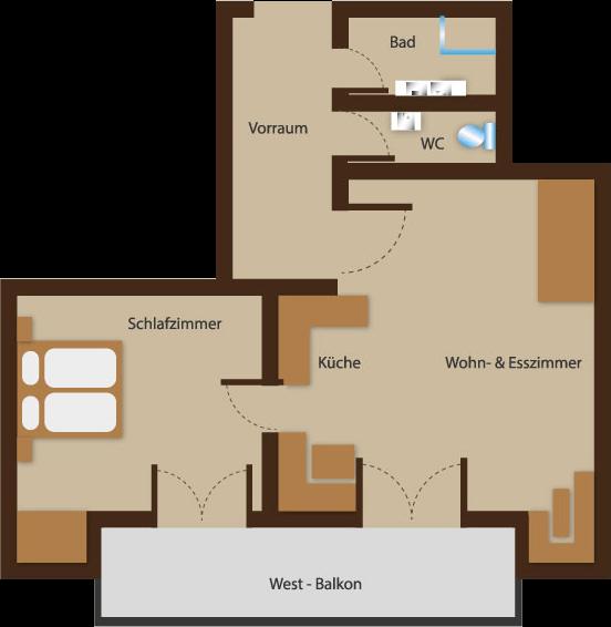 Seehaus Sommerheim - Ferienwohnung 9 Ansicht