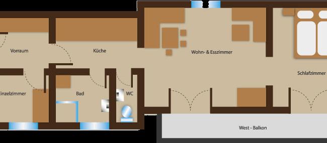 Seehaus Sommerheim - Ferienhaus Wiesenblick Ansicht