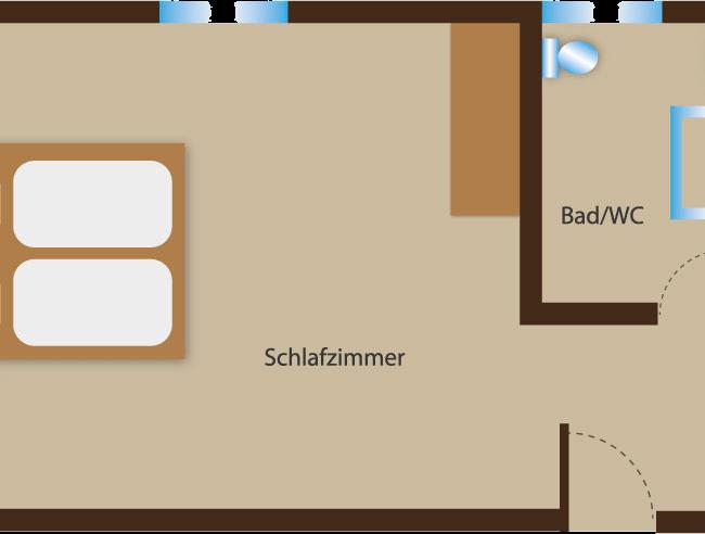 Seehaus Sommerheim - Zusatzzimmer Ansicht