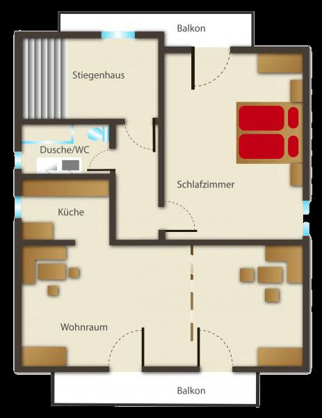 Seehaus Sommerheim - Ferienwohnung 11 Ansicht