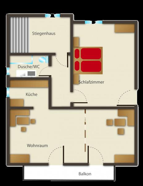 Seehaus Sommerheim - Ferienwohnung 12 Ansicht